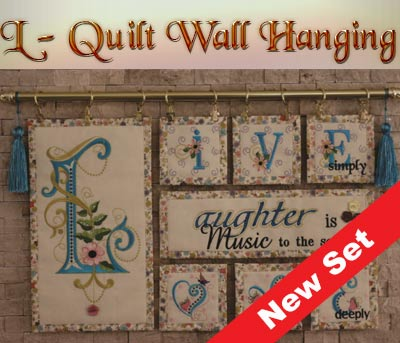 L-Quilt Wall Hanging