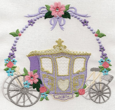 Carriage with Flowers