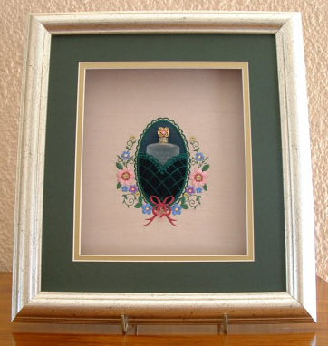 Conpleted & Framed Design